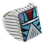 Ring Silber multicolor ZUNI